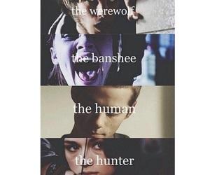 teen wolf, banshee, and human image