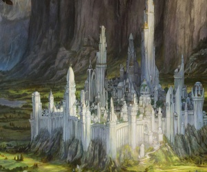 art, illustration, and middle earth image