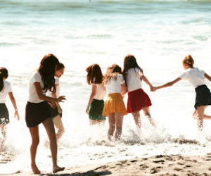 snsd, girls generation, and beach image