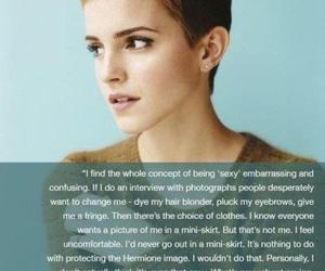 emma watson, quotes, and sexy image