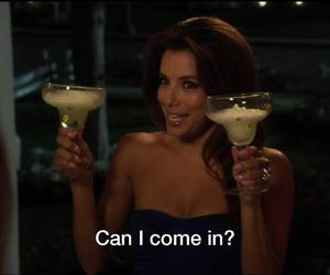 eva longoria, Desperate Housewives, and drink image