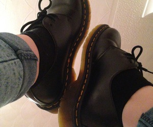 black, shoes, and doctor martens image