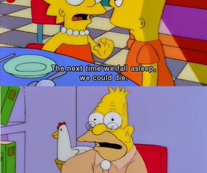 funny, quotes, and bart image