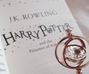 book, jk rowling, and page image