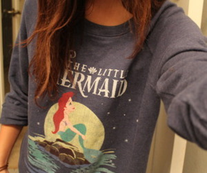 girl, cute, and ariel image