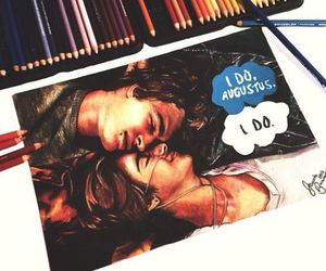 the fault in our stars, love, and art image