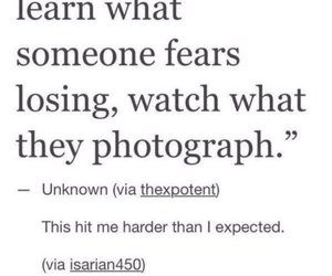 fear, photograph, and quotes image