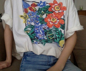 flowers, aesthetic, and grunge image