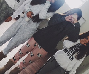 goals, pijama, and sleepover image