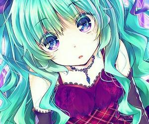anime girl, art, and miku image