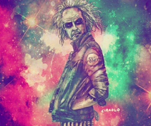 beetlejuice, hipster, and art image