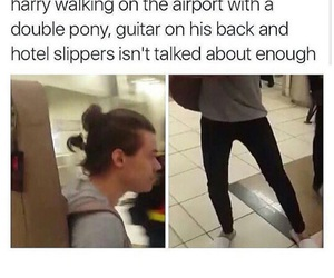 Harry Styles, one direction, and airport image