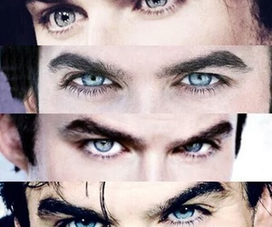 ian somerhalder, blue eyes, and tvd image
