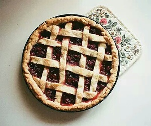 food, pie, and cake image