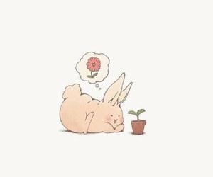 anime, bunny, and cute image