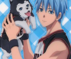 anime, dog, and kurobasu image