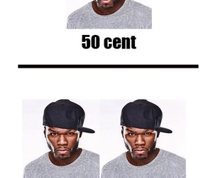 50 cent, funny, and lol image