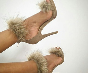 furry, luxurious, and heels image