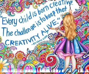 drawing, art, and child image