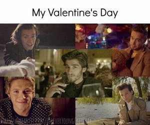 one direction, Valentine's Day, and 1d image
