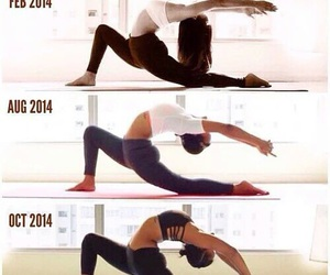 yoga, fitness, and motivation image