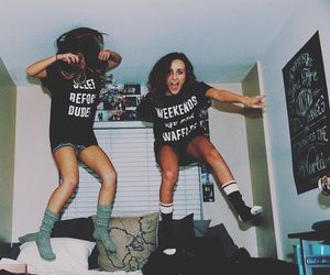 girls, hipster, and Shots image