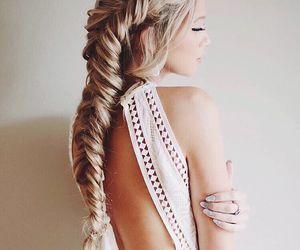 beauty, girl, and hairstyles image