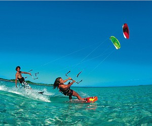 kite, sea, and sport image