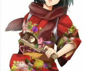 anime, mikasa ackerman, and Otaku image