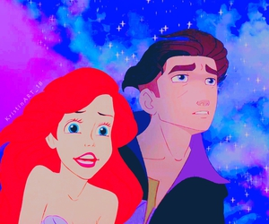 ariel, jim, and disney crossover image