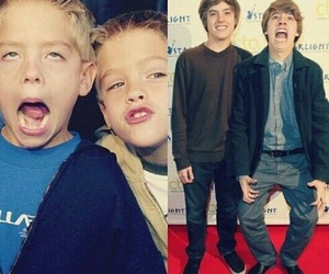 twins, boy, and dylan sprouse image