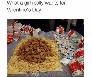 love, food, and funny image
