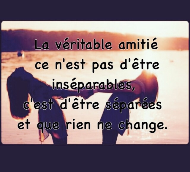 Citation Amitie Shared By Innoubliable On We Heart It