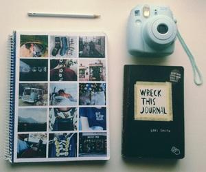 photo, book, and camera image