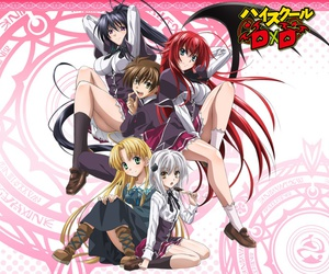anime and highschool dxd image