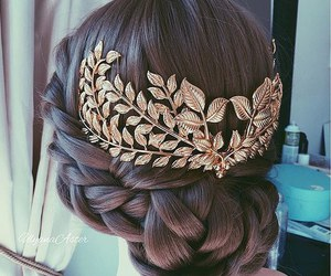 accessories, style, and cool hairstyle image