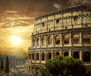 colosseum, journey, and roma image