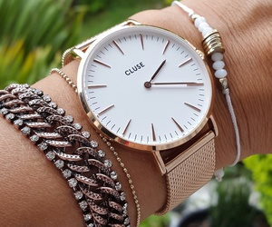 watch, montre, and cluse image