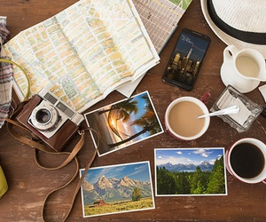 travel and coffee image