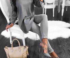 fashion, grey, and inspiration image