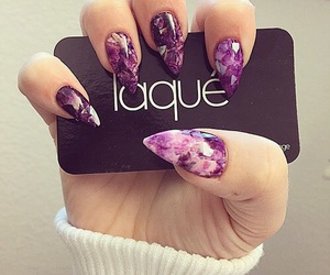 nails, fashion, and laque image