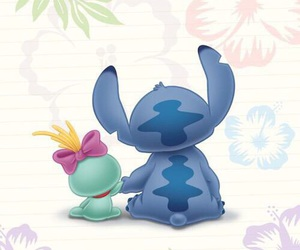 stitch, disney, and stich image