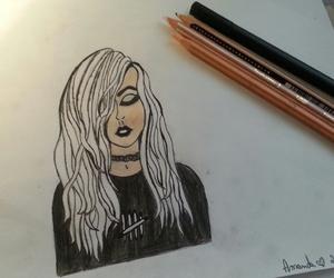 black, draw, and draws image