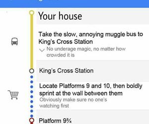 bus, funny, and harry potter image