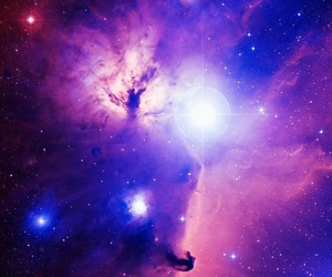 galaxy, purple, and pink image