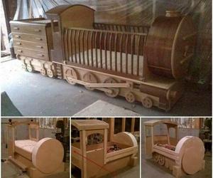 baby, train, and diy image