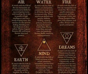 elements and witch image