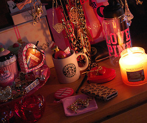 pink, starbucks, and candle image