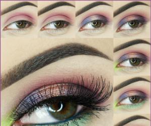 eyemakeup, eyemakeuptutorial, and makeup image