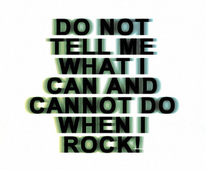 rock and text image
